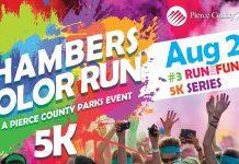 Chambers Color Run 5k Fun Run